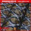 Papier peint auto-adhésif de PVC de mode noire de Damas