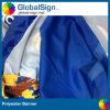China-Fabrik-bester Preis, der Gewebe-Fahnen-Bildschirmanzeige des Polyester-220g bekanntmacht