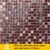 Het marmeren Mozaïek van het Glas van de Mengeling in Rood en Bruin