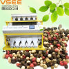 Type trieuse de machine de développement de grain de poivre de couleur