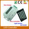 Nuovo regolatore chiaro di tempo di telecomando LED di IR del sensore programmabile