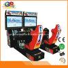 Simulador de fichas el competir con de coche que conduce la máquina superada de la arcada para la venta