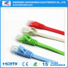 Cable plano de la red de Ethernet de la venta caliente CAT6 UTP con RJ45