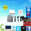 6.0 Marshmallow Smart TV Box Bluetooth WiFi 4k Google Media Player Ott TV Box TX7 2g \ 16g Android Accepter Paypal