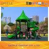 montanhista luxuoso colorido galvanizado 127mm da ponte do arco do borne e equipamento ao ar livre do campo de jogos das crianças espirais da corrediça