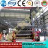 Quente! Mclw12xnc-60*3500 grande máquinas hidráulica da dobra/rolamento da placa do rolo do CNC quatro
