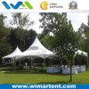 tente blanche et claire de 6X6m de PVC de toit de crête élevée de Gazebo au Kenya