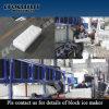 Bloco de gelo Containerized do recipiente novo de 100% que faz a máquina para Sudão