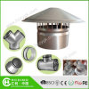 Wasserdichtes Vent Pipe Cap/Galvanized Steel Cowl Vents/Roof Cowl Mushroom Air Vent für Kitchen Bathroom