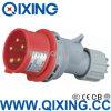 Qixing 유럽 기준 남성 산업 플러그 (QX-3)