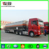 Aluminium50cbm öltanker-LKW-Schlussteil-Kraftstofftank-halb Schlussteil