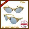 Fx44 Houten Zonnebril van het Bamboe Hotsale van de Kwaliteit de Met de hand gemaakte