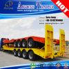 4 Bett-halb LKW-Schlussteil der Wellen-80tons hydraulischer niedriger