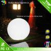 As cores da esfera DMX 16 do diodo emissor de luz Waterproof IP65 RGB recarregável