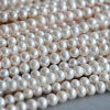 9-10m m Short Potato Shape Freshwater Pearl Strands (E180012)
