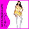 O Fairy do carnaval do ouro veste Costum