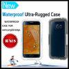 Cas imperméable à l'eau insalissable antichoc antipoussière de cas de dispositif de couverture protecteur pour la galaxie S6 de Samsung et le bord