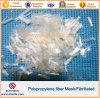 FibrillatedポリプロピレンのファイバーPPの網のファイバーを補強するセメント