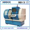 CNC van de Apparatuur van de Reparatie van het Wiel van de Legering van de Besnoeiing van de Diamant van het Type van PC Draaibank