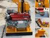 Machine de fabrication de brique de verrouillage de sol d'argile de Hr1-25 Lego