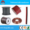 PVC Red&Black 2*2.5mm2 CCA Pure Copper Speaker Cable de Tranparent
