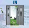 절반 2 Sidelites를 가진 라이트 유리에 의하여 삽입되는 정면 강철 문