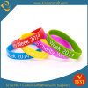 2015 coutume Coloring Silicone Bracelet pour Promotion (KD-1817)