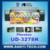 PVC flexible de la máquina de impresión Ud-3278k, 3,2 m, con Spt510 cabezales de impresión / 50PL