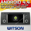 BMW M5 (W2-A7211)를 위한 Witson Android 4.4 System Car DVD