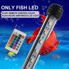 IP68 sumergible LED 24PCS SMD5050 LED Lámparas de pescado para piscina de acuario