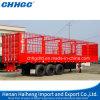 De Semi Aanhangwagen van de Omheining van het Vervoer van dieren voor Vrachtwagens