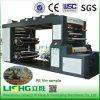 4 Machine van de Druk van Flexo van de Ethyleen van de Hoge snelheid van de kleur de Poly