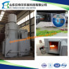 플라스틱 폐기물 불타는 Incineraotr 의 까만 연기 소각로 없음, 10-500kgs 수용량