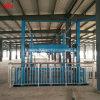 De verticale Hydraulische Goederen die van de Lift van het Spoor van de Gids Platform laden