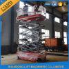 Het gemotoriseerde Platform van de Lift van de Schaar van het Venster Schone