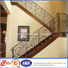 Pasamano moderno interior de la escalera del acero inoxidable
