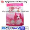 Sacs de empaquetage d'impression de litière du chat faite sur commande de plastique stratifié avec le bec