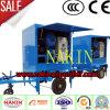 Máquina de la filtración del petróleo del transformador, sistema de la purificación de petróleo, máquina de la limpieza del petróleo inútil