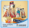Contenitore impaccante di PVC del PVC della protezione di bambola della radura di plastica trasparente del contenitore