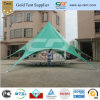 Groen Colored pvc Events Star Shelter Tents (DIA 16MX8M)