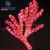 Christmas Decoration를 위한 LED 아크릴 Coral Christmas Motif Lights