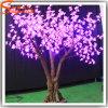 특유한 디자인 인공적인 플라스틱 LED 벚꽃 나무