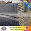 Sección hueco de acero galvanizada 25mm*75m m