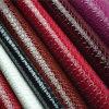 Cuir synthétique d'unité centrale de vente de texture chaude de serpent pour des chaussures, sac à main