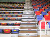 Telescopic de interior Retractable Bleacher Seats para Gym, Stadium