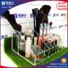 Support de balai acrylique élégant de renivellement d'organisateur de renivellement d'usine de la Chine