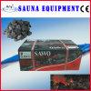 Pierre foncée de lave pour le radiateur de sauna (KF1366-2)