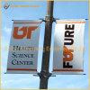 Segno della bandiera del palo chiaro della via di pubblicità esterna (BT-SB-006)