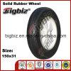 150mm termoplastico Black Rubber Caster Wheel