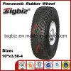 Qingdao una rotella di gomma pneumatica 410/350-4 da 10 pollici